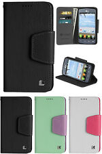 INFOLIO WALLET CREDIT CARD CASH CASE COVER STAND FOR LG OPTIMUS DYNAMIC-2 L39C