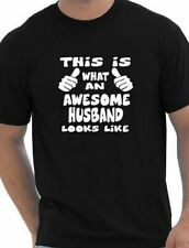This Is What Awesome Husband Looks Like Funny Mens T Shirt Size S-XXL