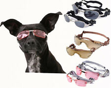 Doggles Dog K9 Optix sunglasses UV protection goggles New pink copper silver