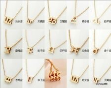 Korean Style Lovely The Zodiac Charm Antique Choker Necklace