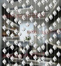 10 pcs Glass Crystal beads curtain Window/Door/Kitchen hanging curtain wedding