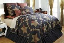 3pc Arlington Patchwork Star Quilted Bedding Set by VHC Brands - Quilt, 2 Shams