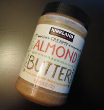 Kirkland Signature Creamy Almond Butter 26 oz Jar - 1 to 4 Jars
