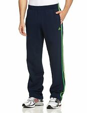 Mens New Adidas Tracksuit Jogging Bottoms Joggers Sweat Track Sweat Pants - Navy