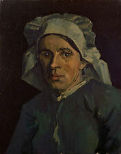 [Head of a woman] Vincent van Gogh Painting - Replica - Canvas Giclee