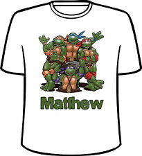 Personalized Teenage Mutant Ninja Turtles T-Shirt