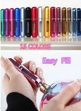 Empty Easy Fill Refillable Perfume Atomizer Bottle Travel Spray Scent Pump Case
