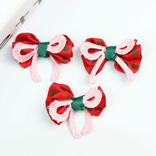 DIY Bowknot Baby Girls Hair Accessory Corsage Clothing Applique Bow knot Craft