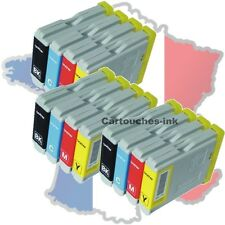 12 Cartouches-ink encre compatible imprimante Brother LC970 LC1000 MFC5460CN