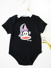 New Small Paul by Paul Frank Short Sleeve One-Piece, 0/3 mo, 3/6 mo, 6/9mo