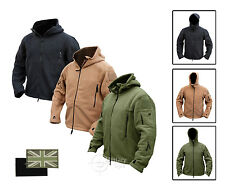 TACTICAL RECON HOODIE MILITARY FLEECE SPECIAL FORCES JACKET POLICE SECURITY ARMY