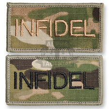BRITISH MTP MULTICAM INFIDEL FLASH TITLE UBACS VELCRO RANK PATCH SHOULDER