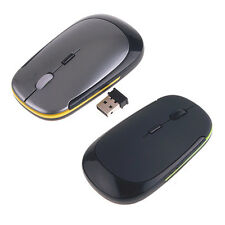 Ultra-Slim Mini USB Wireless 2.4G 2.4GHz Mouse Optical Mice with USB Receiver