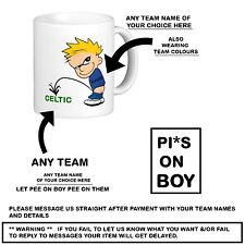❤ FOOTBALL PISS ON PREMIER LEAGUE SOCCER shirt TEAM COFFEE TEA office Brew MUG ❤