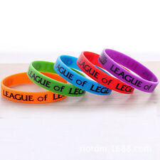 Fashion  LOL League of Legends Colorful Theme Silicone Bracelets Hand Catenary