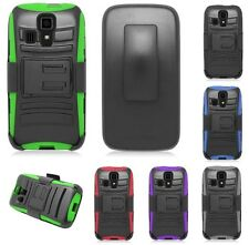 SHOCK ARMOR HARD BELT CLIP HOLSTER CASE for KYOCERA model cell phone