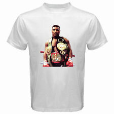 New MIKE TYSON *Iron Mike The Real Boxing Champion Mens White T-Shirt Size S-3XL