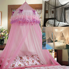 Canopy Bed Netting Mosquito Net 4 Corner Full Size or Kid Princess Round Dome