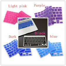 5 Colors Fashion Keyboard Cover Skin for Apple Macbook Pro MAC 13 15 17 Air 13