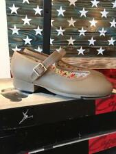 Mary Jane Tap Shoes - Tan