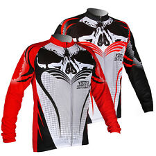 Breathable Mens Cool Thermal Sports Outdoor Long Sleeve Cycling Jersey Wind Coat