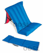 Inflatable Air Bed Mattress Camping Folding Airbed Holiday Beach Chair Guest Mat