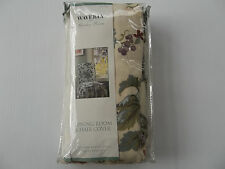 WAVERLY -  Carolina Gardens  Chair Slip Covers NEW in pkg