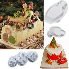 A variety of mini-fondant cake decorating cookie cutter sugar craft tools mold