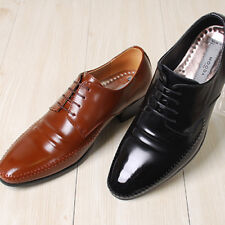 Excellent Leather Luxury Dress Lace up  Mens Shoes
