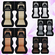 cc 1982-1992 chevrolet camaro front and 4 piece rear car seat covers color choic