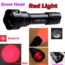 Red Light 3 Mode With Modes Memory XP-E CREE Flashlight  Torch T20 UF Packages