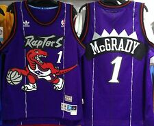 TRACY MCGRADY TORONTO RAPTORS HARDWOOD CLASSICS THROWBACK JERSEY SWINGMAN NEW