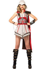 Brand New Assassin Creed Ezio Girl Women Outfit Adult Costume