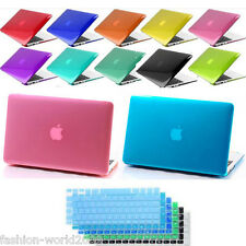 "Crystal Rigid Slim Case Cover For Macbook Air 11""13"" Pro Retina 13/15"" Protector"