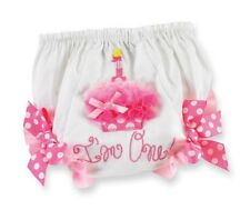 Mud Pie Party Time Girl First Birthday I'm 1 One Cupcake Bloomer (9-12MO) 173785