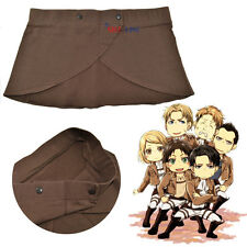 Attack on Titan Shingeki No Kyojin Eren Cosplay Apron Skirt Costume High Quality