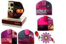Women Leather Multicoloured Horse Shoe Wallet Clutch Purse With Box ideal Gift
