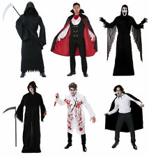 MENS BOYS HALLOWEEN FANCY DRESS COSTUME GRIM REAPER VAMPIRE SCREAM OUTFITS LOT