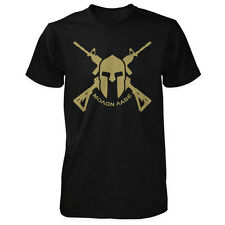 Molon Labe AR-15 Spartan Shirt - Leonidas 300 Second Amendment Come and Take It