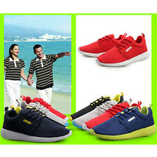 New Unisex Men Women Low Top Slip On Trainers Running Breathable Casual Shoes UK