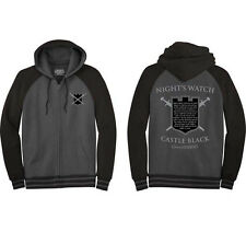 Game Of Thrones HBO Night Watch Zip Up Hoodie Jacket Shirt