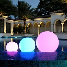 Remote Control Outdoor LED Light Balls Color Changing Pool Patio Party Lighting
