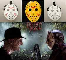 JASON VS. FREDDY COSTUME PROP HORROR HOCKEY MASK FRIDAY THE 13TH HALLOWEEN MYERS