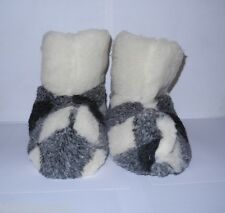 SHEEP WOOL SLIPPERS BOOTY STYLE as warm as sheepskin NON SLIPPERY SOLE US Men