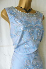 "★:*¨¨*☆♥★MONSOON BNWT ""ANNE BLUE  DRESS SIZE 14★:*¨¨*☆♥★"