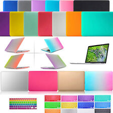 "Hard Rubberized Laptop Cover Case Shell for Macbook Air/Pro/Retina 11"" 13"" 15"""