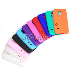 Gel Rubber soft Silicone Skin Case Cover for Samsung Galaxy S5 mini,SM- G800H