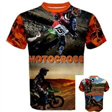 MOTOCROSS off road motorcycle DIRT BIKE helmet SPORT bike RacingT-SHIRT Tees MOT
