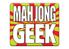 Printed T-SHIRT Funny HEN / STAG DO Party, MAH JONG GEEK All Sizes All Colours