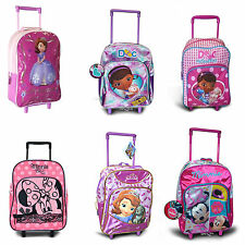 Kids Disney & Children Character Holiday Travel Suitcase Trolley Wheeled bag New